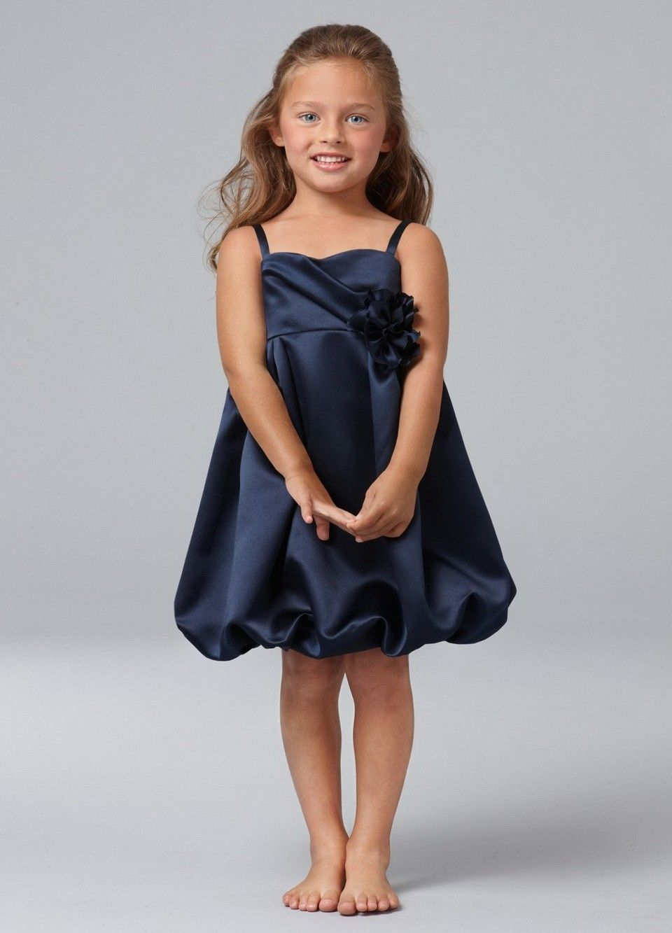Discount navy blue flower girl dress for salejovani bridal discount navy blue flower girl dress for salejovani bridal dressesball gowns formal ombrellifo Image collections