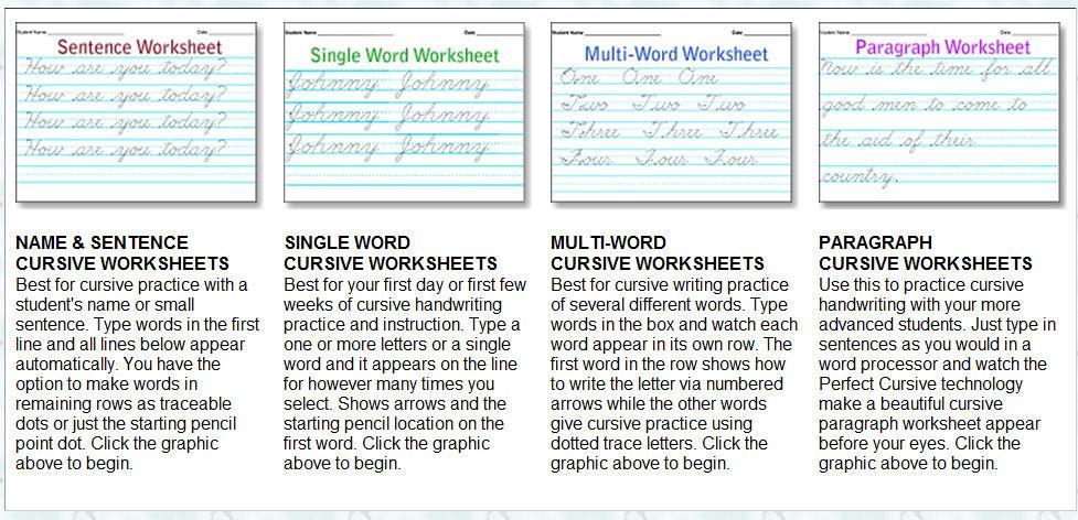 Storytime And More Free Cursive Handwriting Worksheet