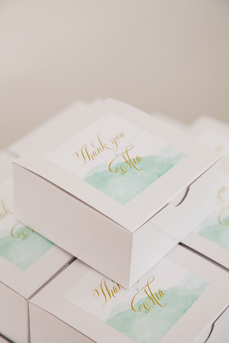 Christening Party by Little Sooti | Favors, Watercolor and ...