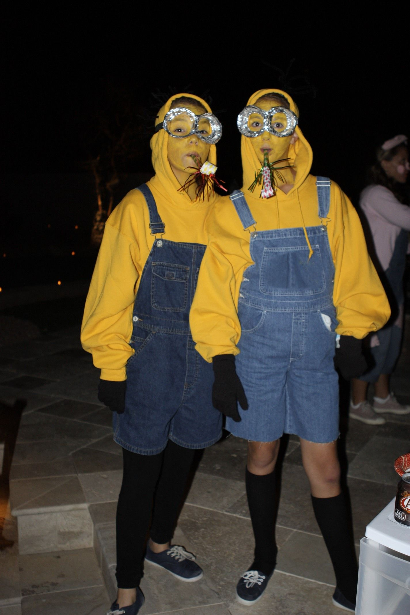 Halloween costume: Minions from the movie Despicable Me. via @The ...