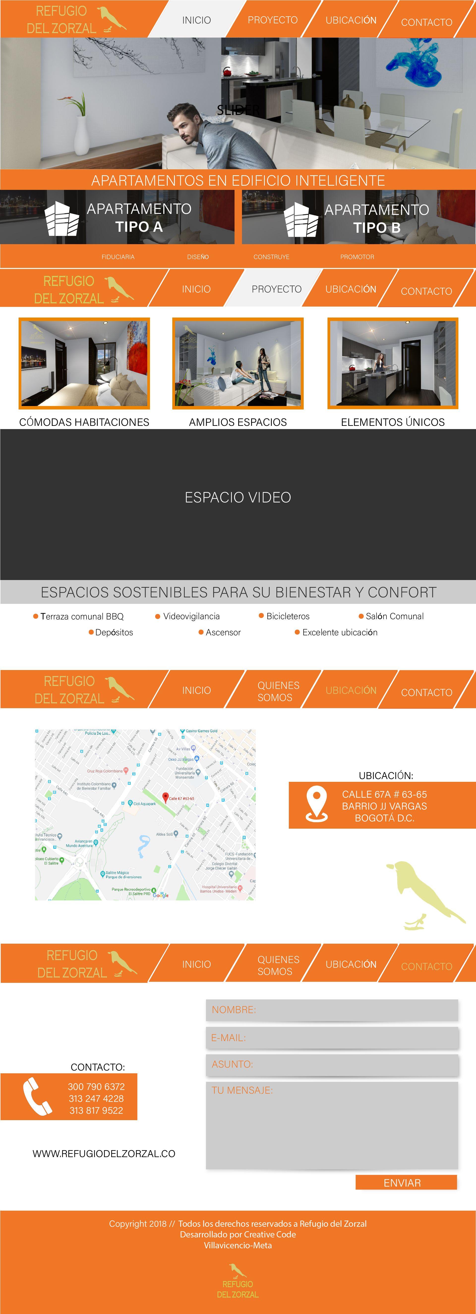 Diseno De Wireframe Para La Pagina Web Del Proyecto