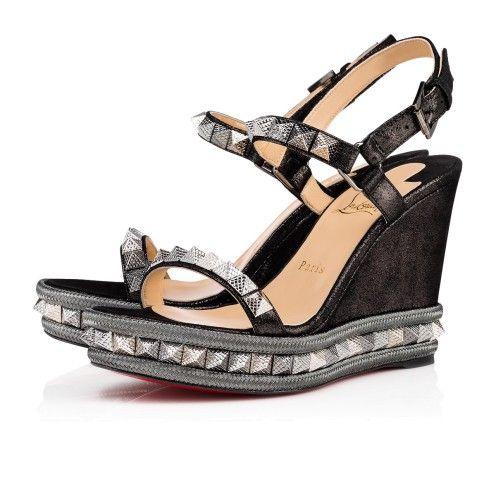 33353417ddc1 Women Designers Wedges - Christian Louboutin Online Boutique ...