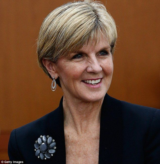 australian hair style julie bishop is bringing back the brooch brooches 3525