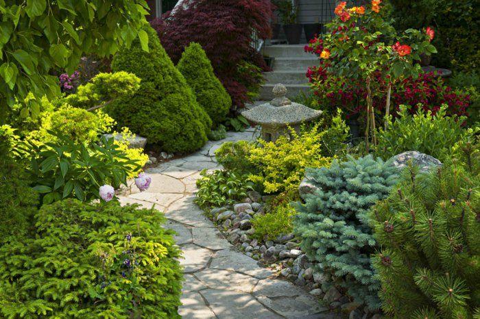 Gartengestaltung Beispiele Gartengestaltung Ideen Gehweg Förmchen