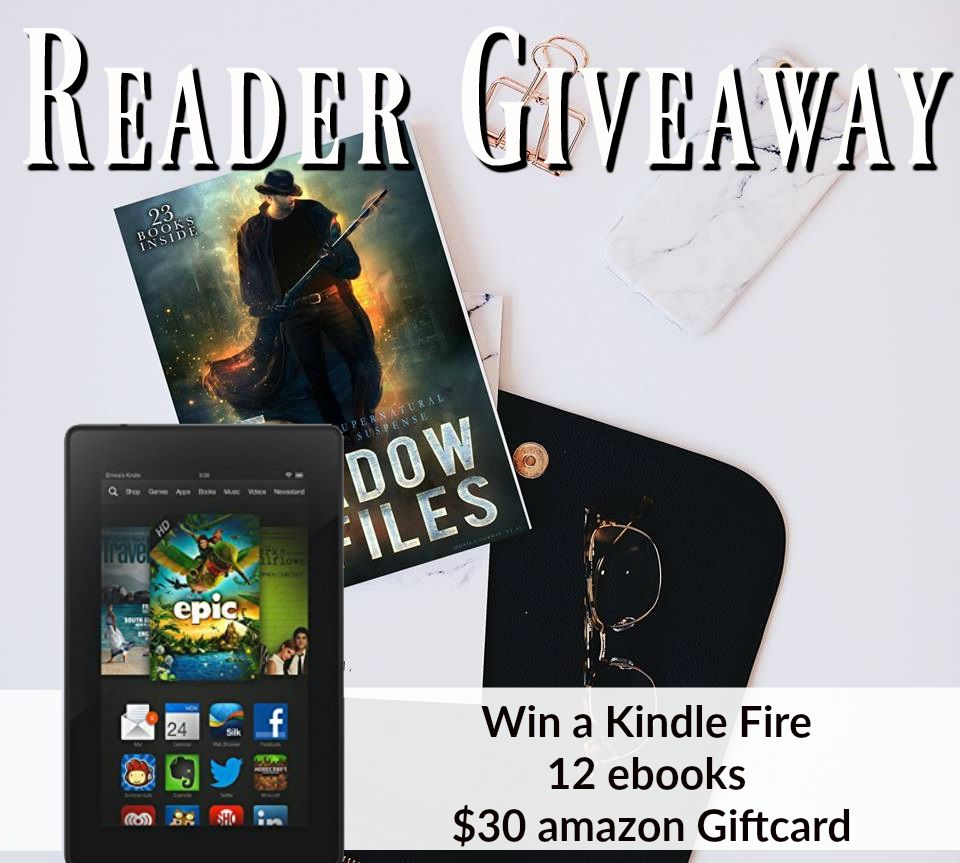Reader giveaway kindle fire 12 ebooks 30 amazon
