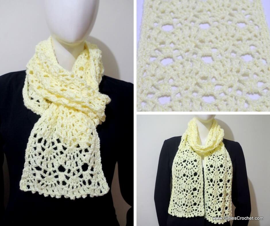 Jean Crochet Scarf | Crochet - Hats, Scarves, etc. | Pinterest