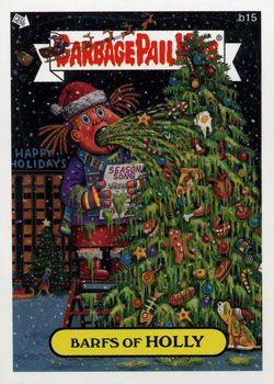 Holiday And Seasonal Garbage Pail Kids Checklist Garbage Pail Kids Garbage Pail Kids Cards Kids Checklist