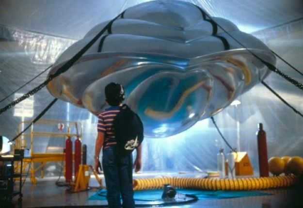 Flight of the Navigator. Must have watched this at least twenty times when I was growing up.
