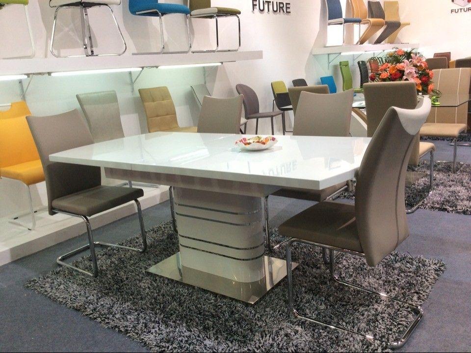 Madera mesa de comedor de estilo italiano moderno muebles importados ...