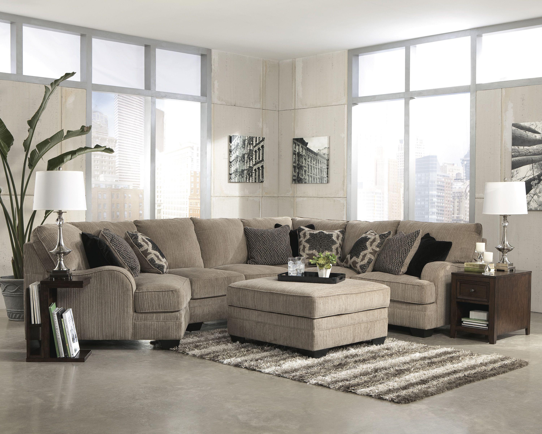 sleeper chaise sectional catosfera katisha bran piece platinum net lefte devon power and with brandie sofa leather recliner