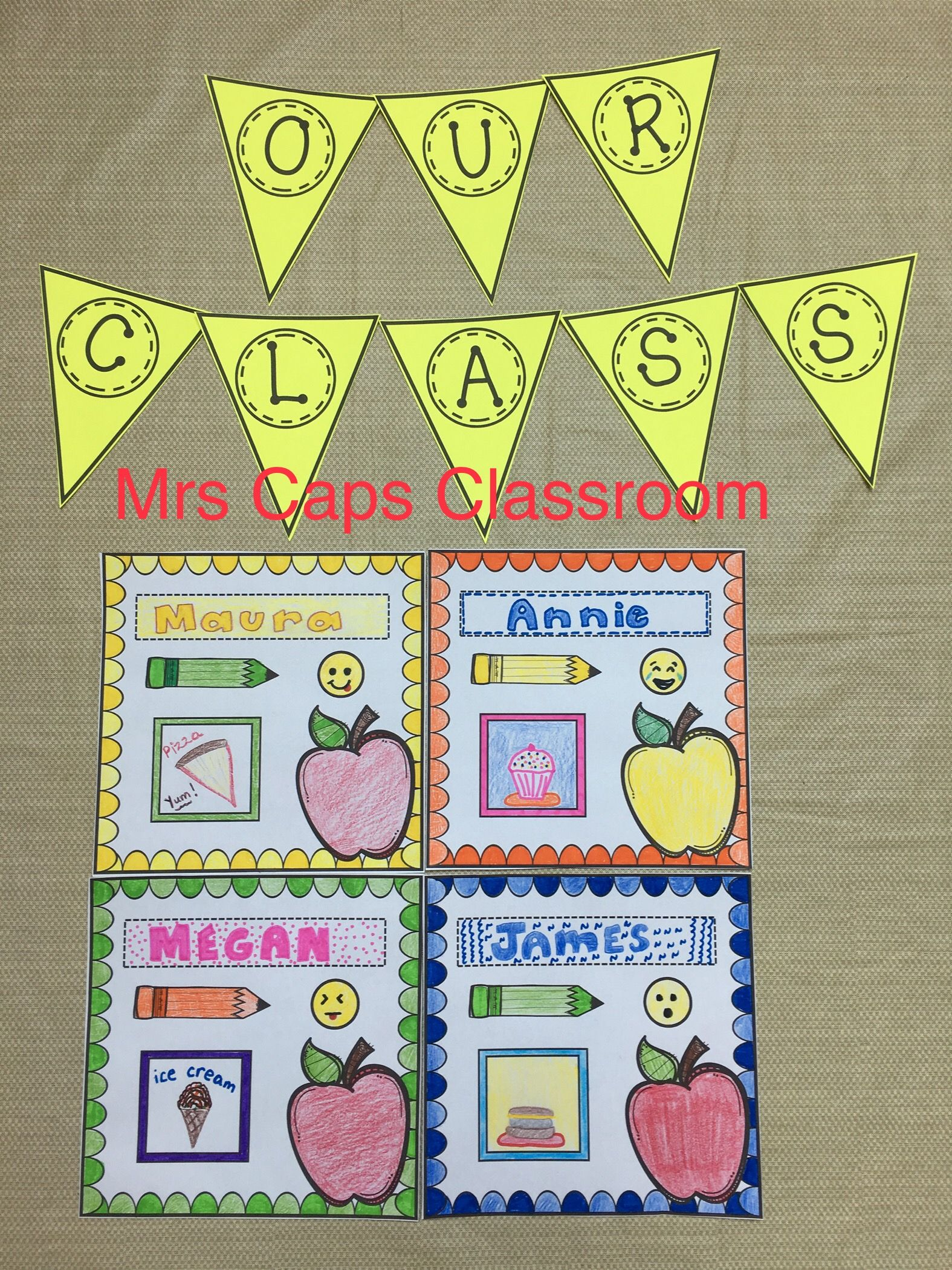 Back To School Glyph Activity Includes Banner Makes A Fun