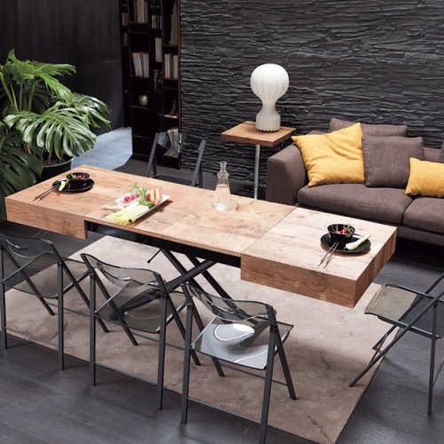 Expandable Coffee Table Cristallo Resource Furniture Muebles
