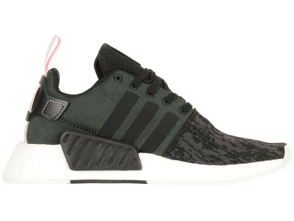 5a9697402 adidas Originals NMD R2 Women s Shoes Black Wonder Pink