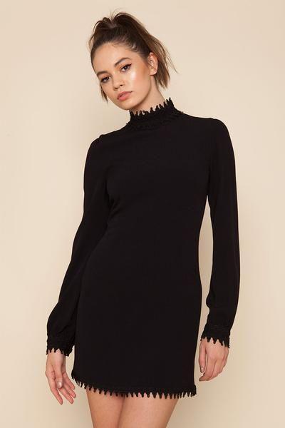 Doutzen Dress in BLACK! #StoneColdFox #Holiday16