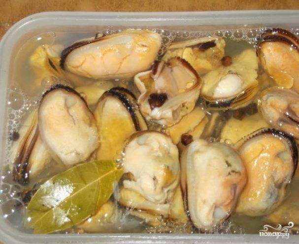 Photo of Pickled mussels