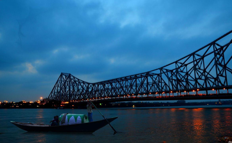 Durga Puja 3d Wallpaper Image Result For Howrah Bridge Images Muhurto Kolkata