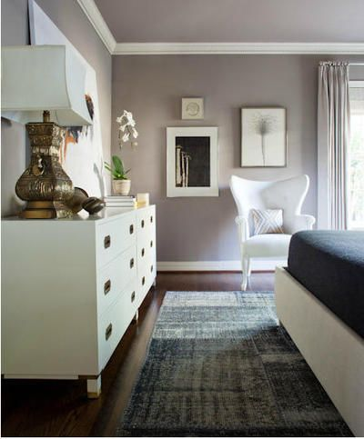 Love The Gray Walls With White Trim Amp Gold Accents