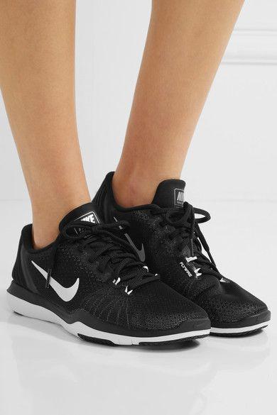Nike - Flex Supreme Tr 5 Mesh Sneakers - Black 785902691