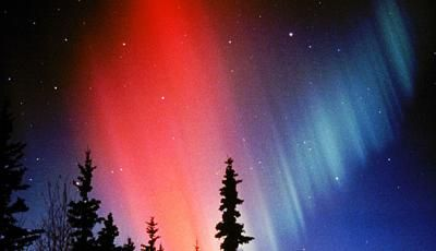 Northern Lights viewing locations - Alaska - Colorful