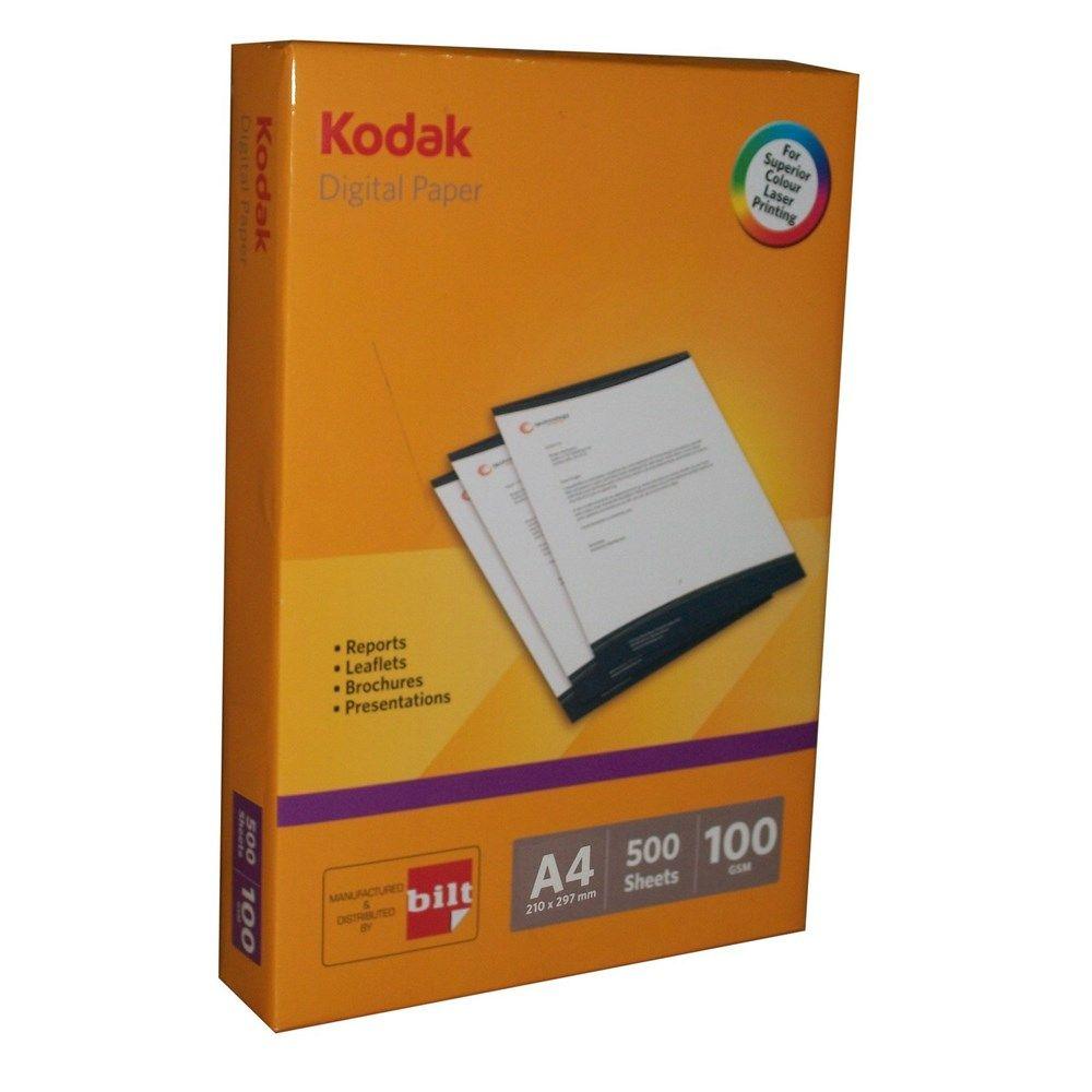 Price Rs.2,025/- Buy Kodak Digital Paper A4 100 GSM Box of 5 Reams Online in India