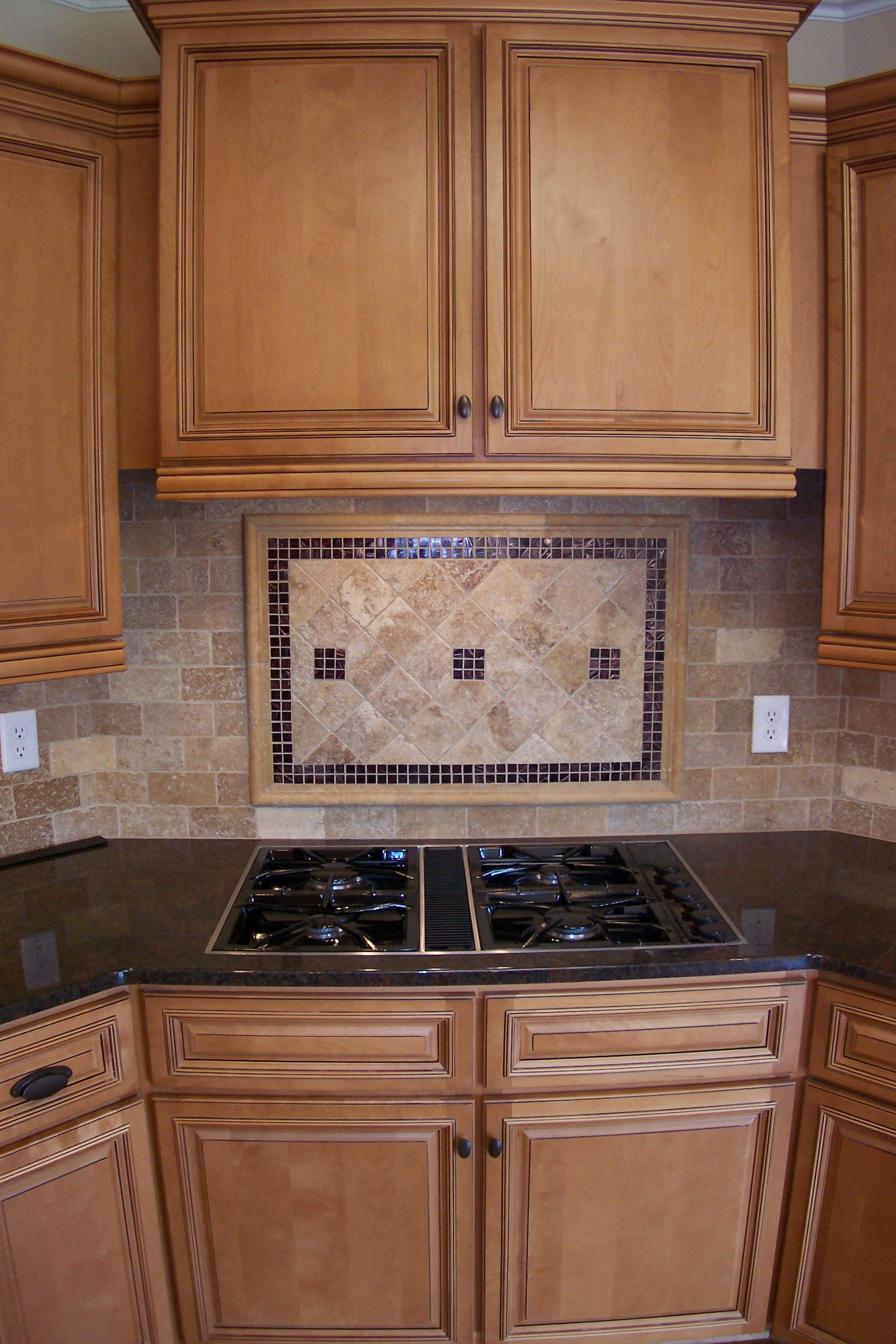 Backsplash Cooktop Google Search Kitchen Kitchen