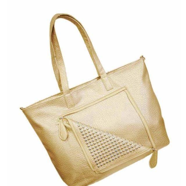4dd176ca029f Xiniu Women Messenger Bags Simple Rivet Zipper Leather Womens Shoulder Bag  bolsa feminina para mujer GHYW. 2016 Women Messenger Bags Simple Fashion ...
