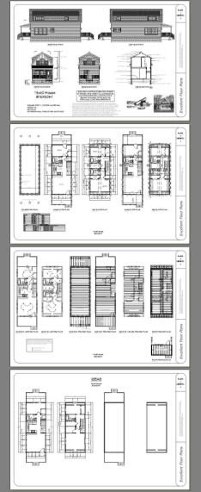 16x40 House 1,193 sq ft PDF Floor Plan Instant