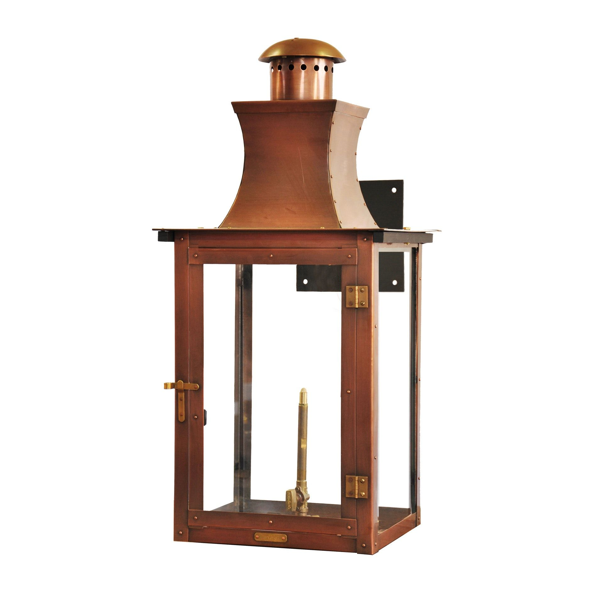 Buy Governor Carriage Lantern On Bracket Mount By Bevolo Gas Electric Lights Made To Order Designer Light Traditional Wall Lighting Copper Lighting Lights