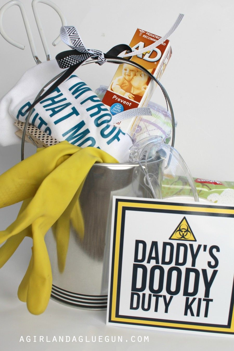 Funny Baby Shower Gift  Daddy Doody Duty Kit!