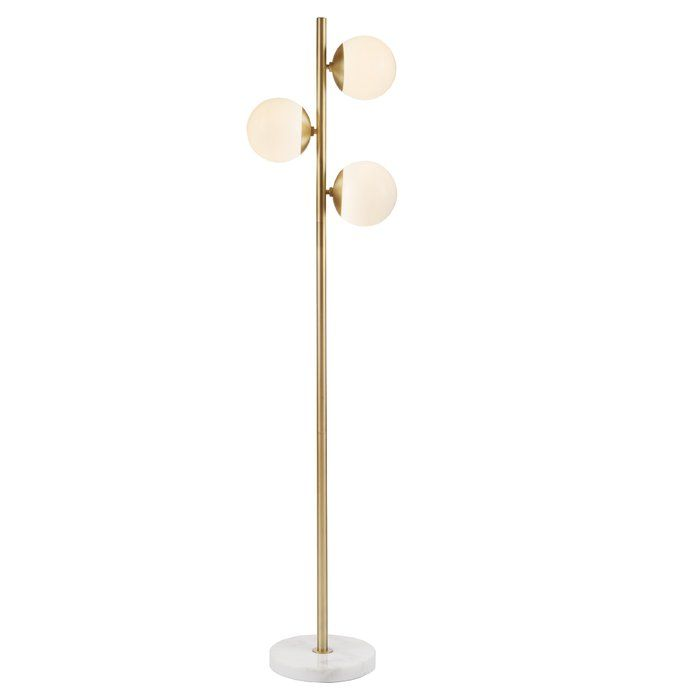 Asher 62 Quot Tree Floor Lamp Amp Reviews Allmodern In 2019 Tree Floor Lamp Floor Lamp Cool