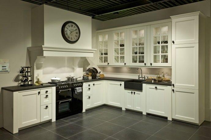 Landelijk Hoek Keuken : Pracht plaatje van een landelijke hoekkeuken indoor living