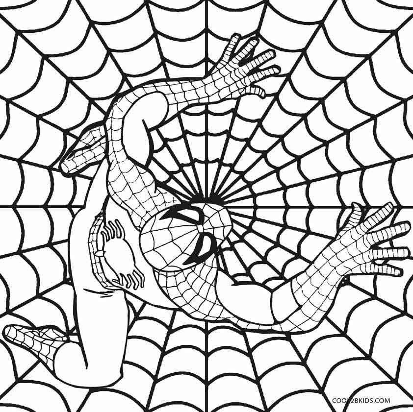 Spiderman Coloring Pages Printable For Kids Pictures To Print