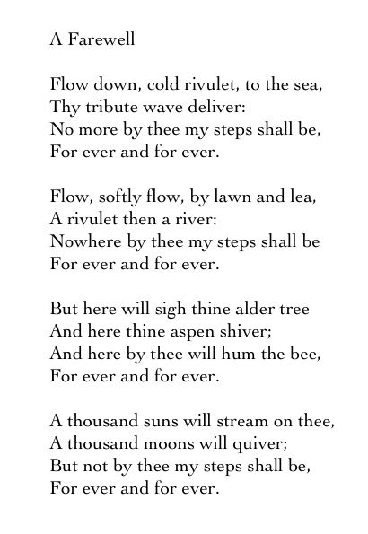 Pin By Ms Angie On Deep Thoughts Farewell Poems Tennyson