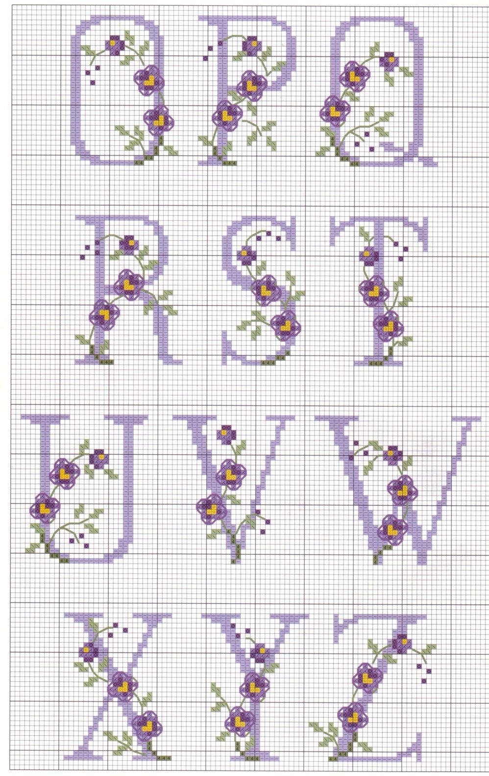 Punto croce schemi gratis e tutorial schemi punto croce for Punto croce schemi alfabeto