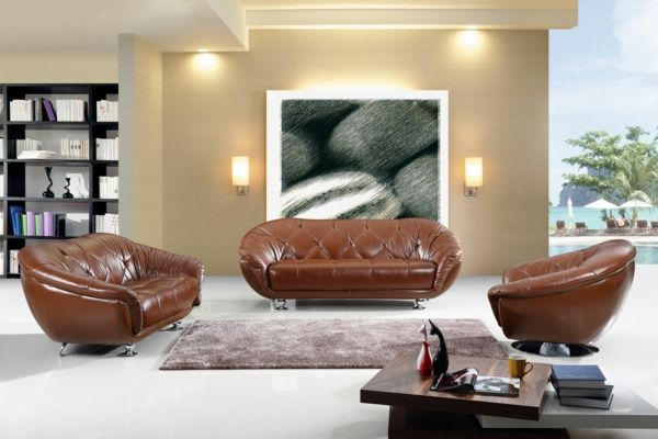 ▷ Wohnzimmer Lampe - Das Wohnzimmer beleuchten Couch Pinterest