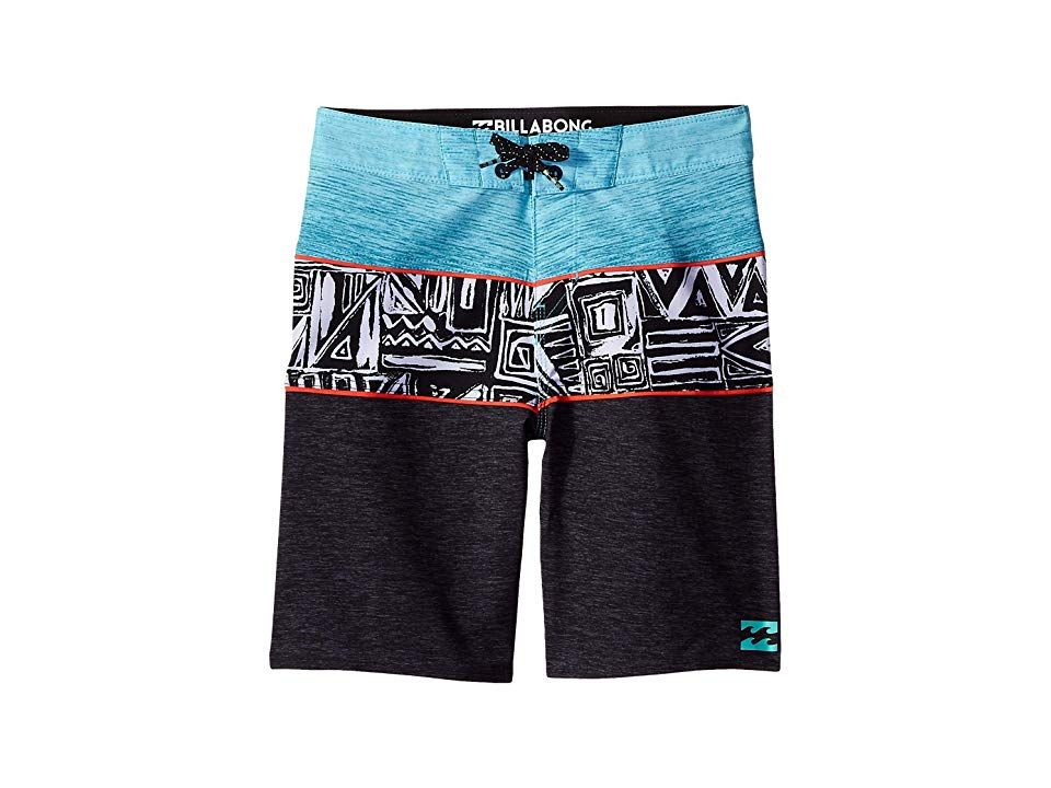 Billabong Kids Tribong X Boardshorts Big Kids Phantom Boys Swimwear A stylish pair of boardshorts that are perfect for tackling surf and sun Performance fit that is engin...