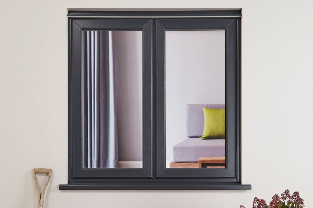 Everest Upvc Casement Window In An Anthracite Colour