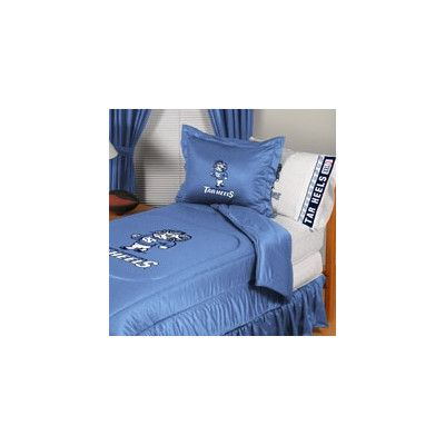 Sports Coverage University of North Carolina Comforter Size: Full/Queen