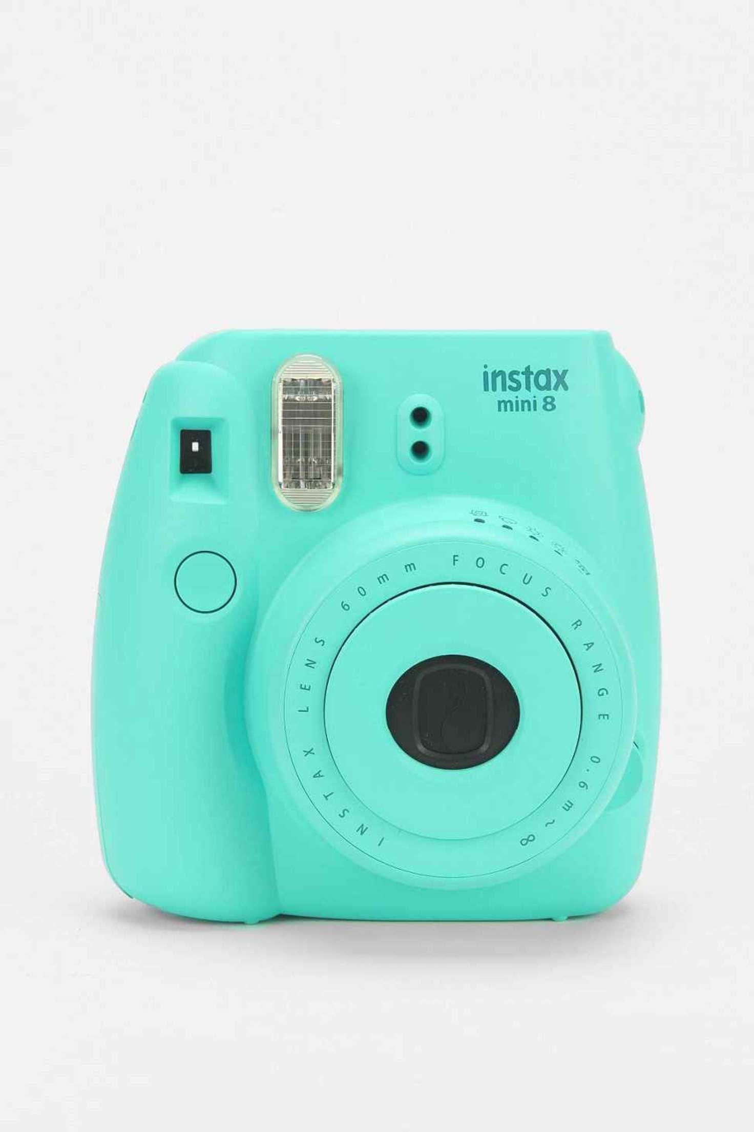 Fujifilm Instax Mini 8 Camera In Aqua Urban Outfitters Camera