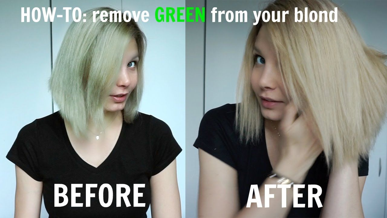 Hair Removal In Green Hair In Natural Shade Wash Your Hair Color Natural Hair Hair Problems Bad Shade Ha Blonde Hair Turned Green Green Hair Green Hair Dye
