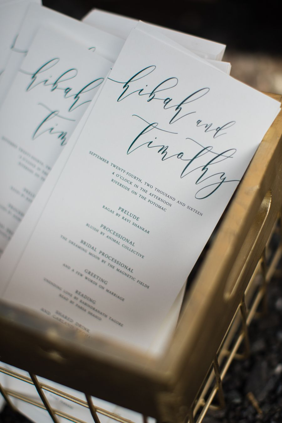 Modern multicultural wedding in the woods by casto multicultural
