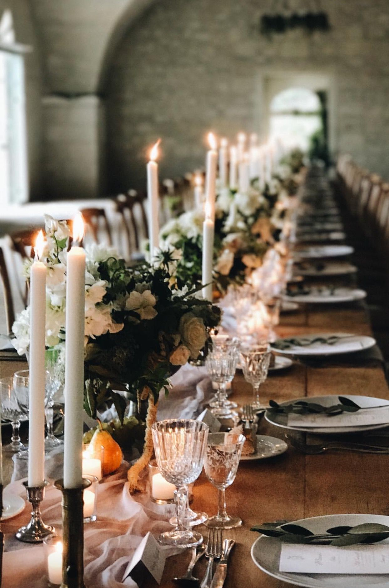 Winter Wedding Table Decor Winter Wedding Pinterest Wedding