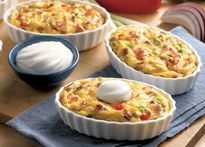 Mini Potato Quiches Daisy Brand Recipes Sour Cream Recipes Food