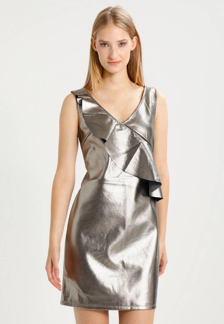 Vila. VIFUTURI SHORT S/L DRESS 35 - Cocktailkleid/festliches Kleid ...