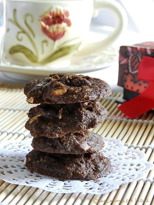 Biskut Coklat Chips Rangup Singgahsana Kitchen Kue Coklat Chip Resep Biskuit Kukis Coklat