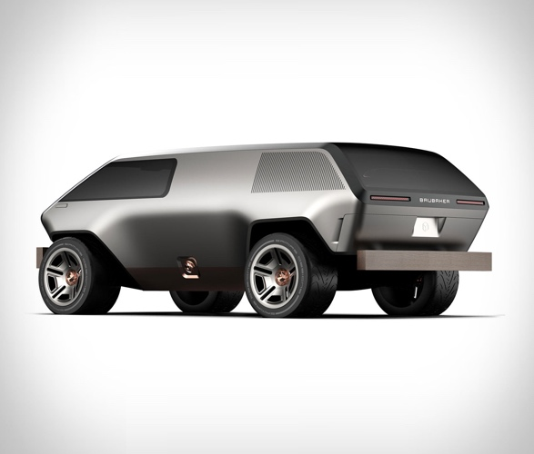 Brubaker Box Minivan Design Mini Van Sun Roof