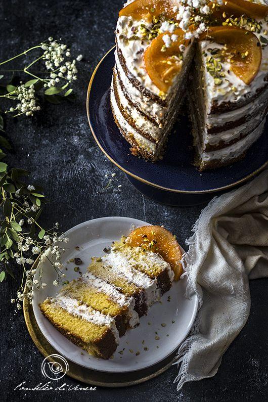 cake miele pistacchio torrone