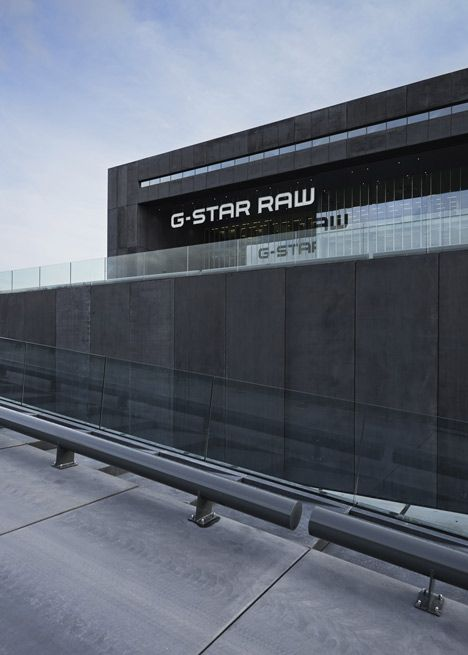 OMA completes industrial headquarters for G Star RAW in