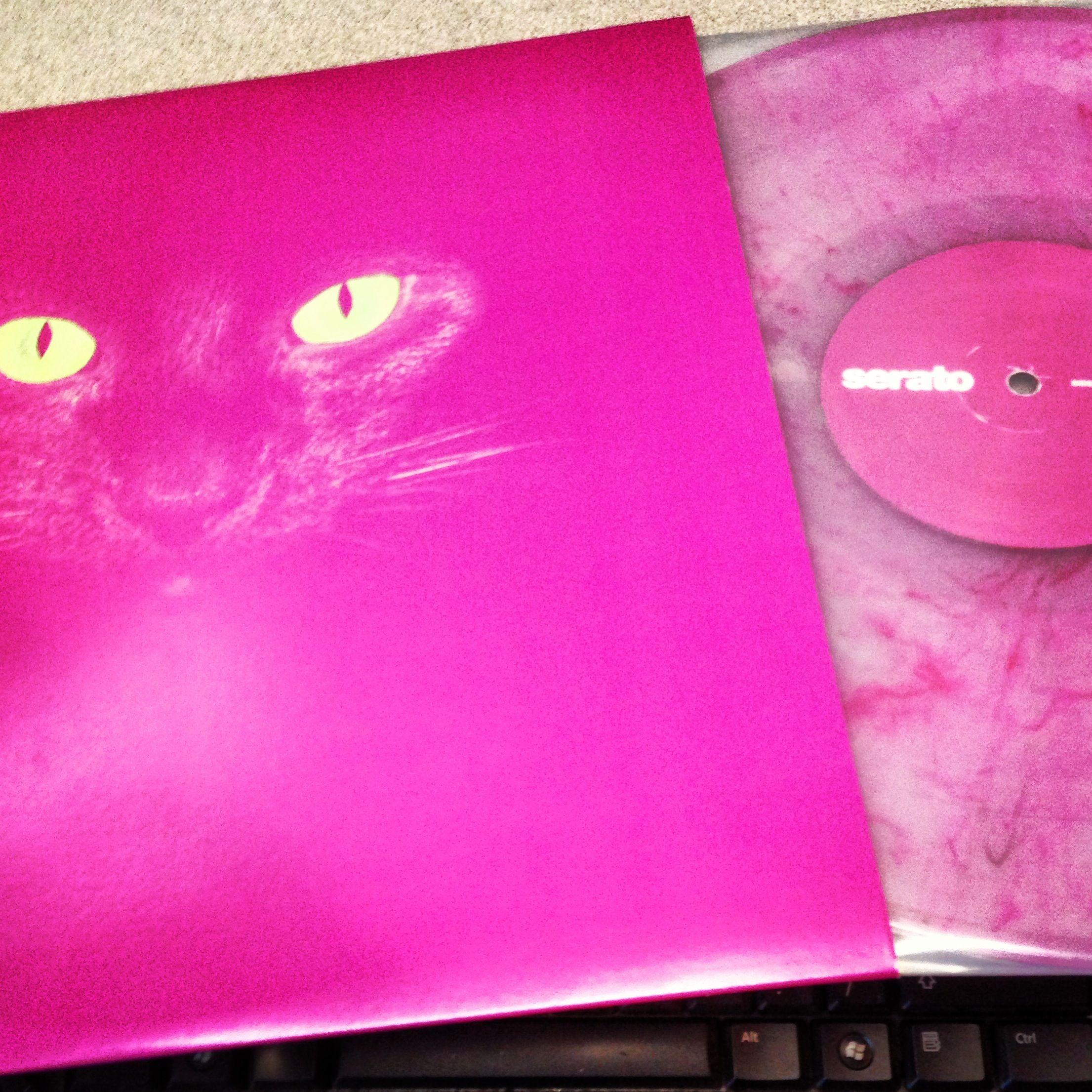 Serato Glow In The Dark Marble Vinyl Album Design Marble Vinyl Dj Gear