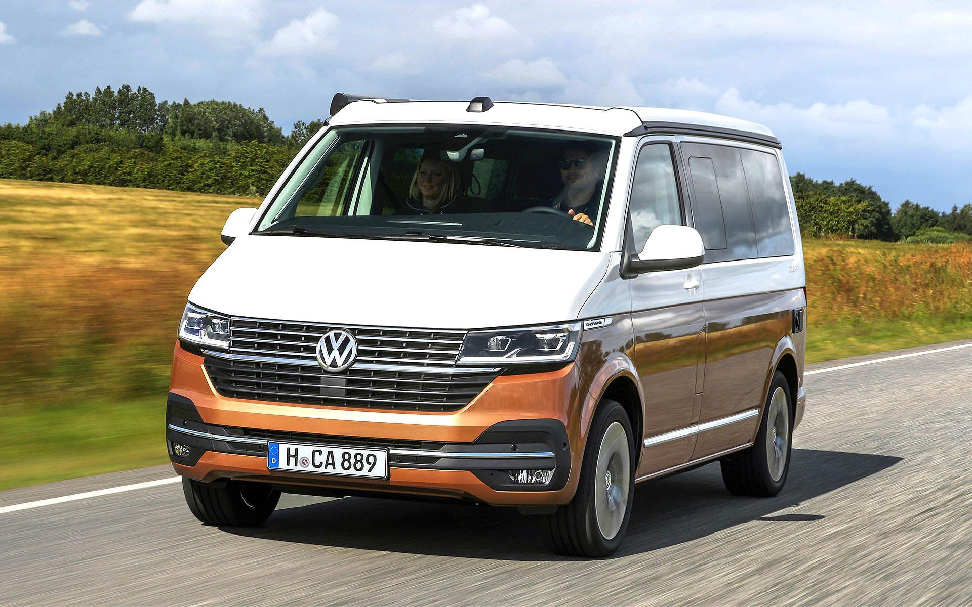 Vw California 6 1 Camper Gets A Bunch Of New Hi Tech Features Vw California Camper Volkswagen Camper Volkswagen Camper Van